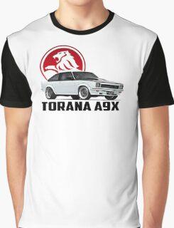 Holden Torana - A9X Hatchback - White 2 Graphic T-Shirt