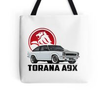 Holden Torana - A9X Hatchback - White 2 Tote Bag