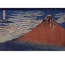 Katsushika Hokusai - Japanese Landscape . Rock Photographic Print