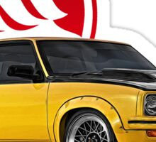 Holden Torana - A9X Hatchback - Yellow 2 Sticker