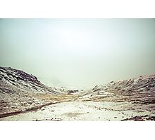 Winter Valley Photographic Print