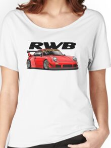 RWB (red) Women's Relaxed Fit T-Shirt