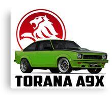 Holden Torana - A9X Hatchback -  Green 2 Canvas Print
