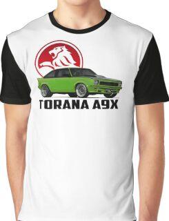 Holden Torana - A9X Hatchback -  Green 2 Graphic T-Shirt