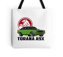 Holden Torana - A9X Hatchback -  Green 2 Tote Bag