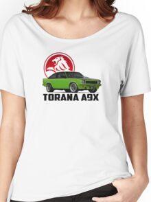 Holden Torana - A9X Hatchback -  Green 2 Women's Relaxed Fit T-Shirt