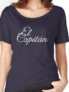 El Capitán Vintage White Women's Relaxed Fit T-Shirt