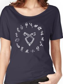 shadowhunters symbol Women's Relaxed Fit T-Shirt