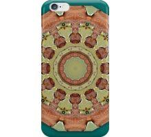 Rust-Art, mandala-style-rust, rust mandala iPhone Case/Skin