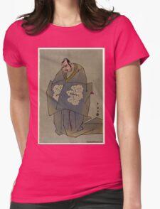 Katoaoka Nizaemon - Shunei Katsukawa - 1793 Womens Fitted T-Shirt