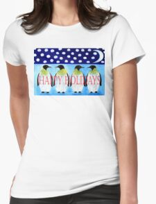 HAPPY HOLIDAYS 13 Womens Fitted T-Shirt