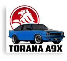 Holden Torana - A9X Hatchback - Blue 2 Canvas Print