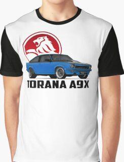 Holden Torana - A9X Hatchback - Blue 2 Graphic T-Shirt
