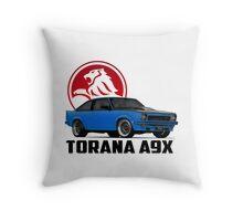 Holden Torana - A9X Hatchback - Blue 2 Throw Pillow