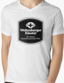 Weltenburger Kloster Mens V-Neck T-Shirt