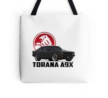 Holden Torana - A9X Hatchback - Black 2 Tote Bag