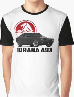 Holden Torana - A9X Hatchback - Black 2 Graphic T-Shirt