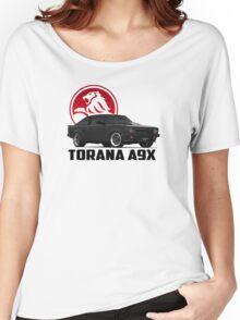 Holden Torana - A9X Hatchback - Black 2 Women's Relaxed Fit T-Shirt