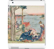 Katsushika Hokusai - Woodcut 1806 iPad Case/Skin