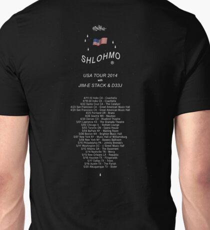 Shlohmo USA tour 2014 Unisex T-Shirt