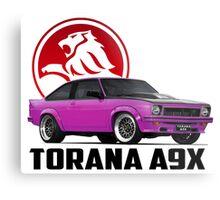 Holden Torana - A9X Hatchback - Pink 2 Metal Print