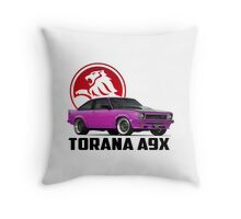 Holden Torana - A9X Hatchback - Pink 2 Throw Pillow