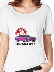 Holden Torana - A9X Hatchback - Pink 2 Women's Relaxed Fit T-Shirt