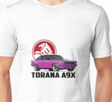 Holden Torana - A9X Hatchback - Pink 2 Unisex T-Shirt