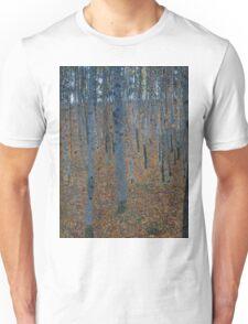 Klimt - Beech Grove . Gustav Klimt - Landscape . Austrian Trees Unisex T-Shirt