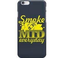 Smoke Mid Everyday - Stamp Version iPhone Case/Skin