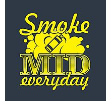 Smoke Mid Everyday - Stamp Version Photographic Print