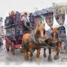 Sight Seeing - Antwerp by Gilberte