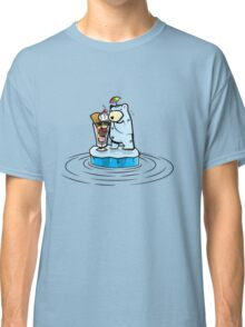 Summer Polar Bear : Sundae Classic T-Shirt