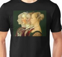 Souvenir from Italy - Pollaiolo's portraits Unisex T-Shirt