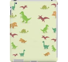 Dinosaurs pattern set elements vector kid style legging  iPad Case/Skin