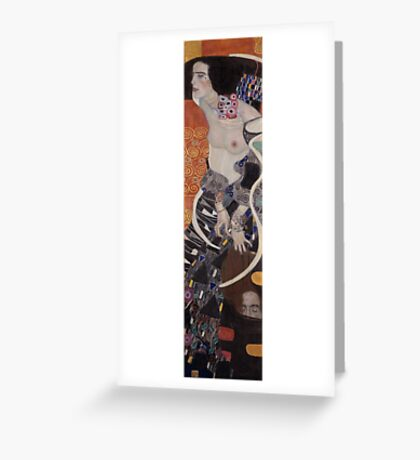 Gustav Klimt  - Judith   Greeting Card