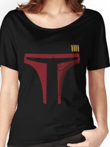 Star Wars - Destroyed Boba Fett Women's Relaxed Fit T-Shirt
