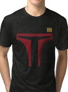 Star Wars - Destroyed Boba Fett Tri-blend T-Shirt