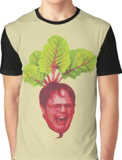 The Office: Dwight Schrute Beet Graphic T-Shirt