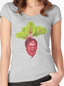 The Office: Dwight Schrute Beet Women's Fitted Scoop T-Shirt
