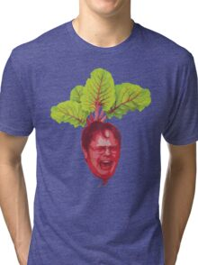 The Office: Dwight Schrute Beet Tri-blend T-Shirt