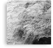 Liquid Edge. 2 - photography Canvas Print