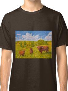 Highland Cattle Pasture Classic T-Shirt