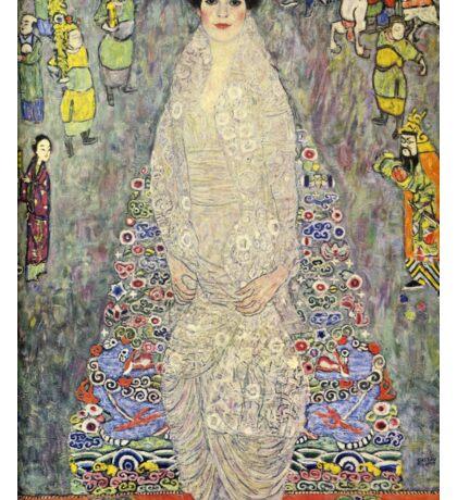 Gustav Klimt  - Portrait of Baroness Elisabeth Bachofen Sticker