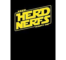 Keep Nerfy Photographic Print