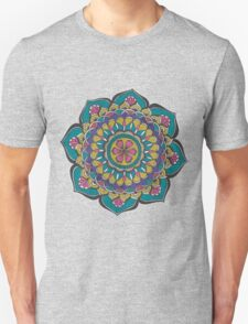 Colourful Flower Mandala T-Shirt