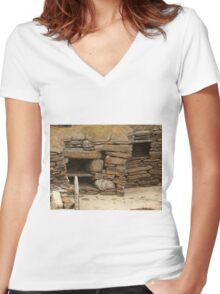 Skara Brae #5 Women's Fitted V-Neck T-Shirt