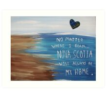 Nova Scotia Home Art Print