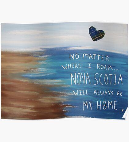 Nova Scotia Home Poster