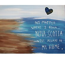 Nova Scotia Home Photographic Print